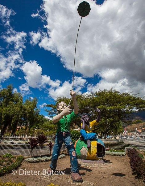 Ecuador Ibarra & El Angel & Gruta de la Paz-109
