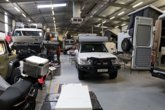 Toyota Landcruiser final preparations @ Alu-Cab