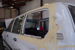 Back window hatch conversion