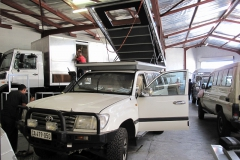 Cruiser modifications @ Alu-Cab